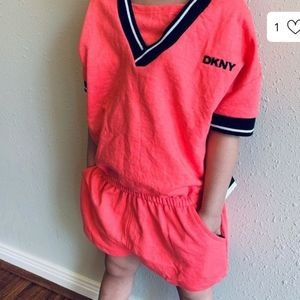 DKNY Girls Romper